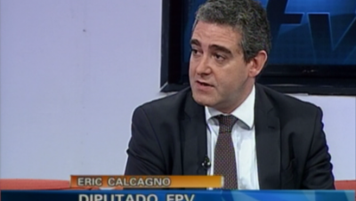 """Eric Calcagno:""""Mi candidato a gobernador es Bossio"""""""