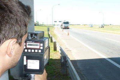 Descubren más de 600 multas con radares ilegales en la provincia
