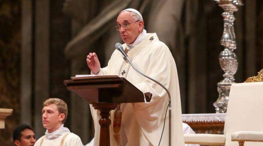 Obediencia y docilidad a Dios, pide el Papa Francisco a consagrados