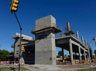 Las obras de la nueva estación de trenes en la recta final
