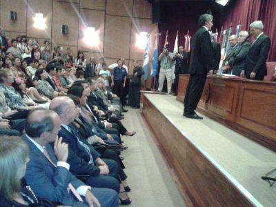 Asumieron nuevos jueces en los distritos judiciales de la Provincia