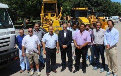Mar Chiquita presentó la nueva maquinaria adquirida a través de Provincia Leasing