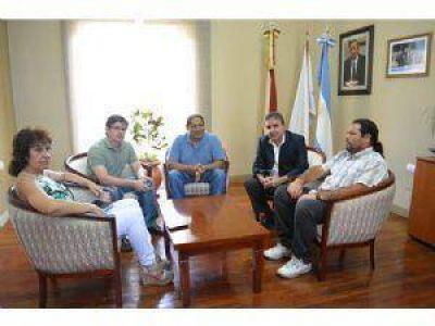 Jalil recibió a representantes del Sindicato de UATRE