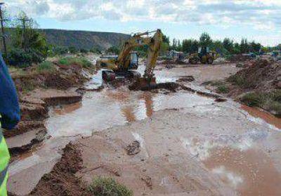 Arreglan las rutas en Rinc�n, tras la tormenta