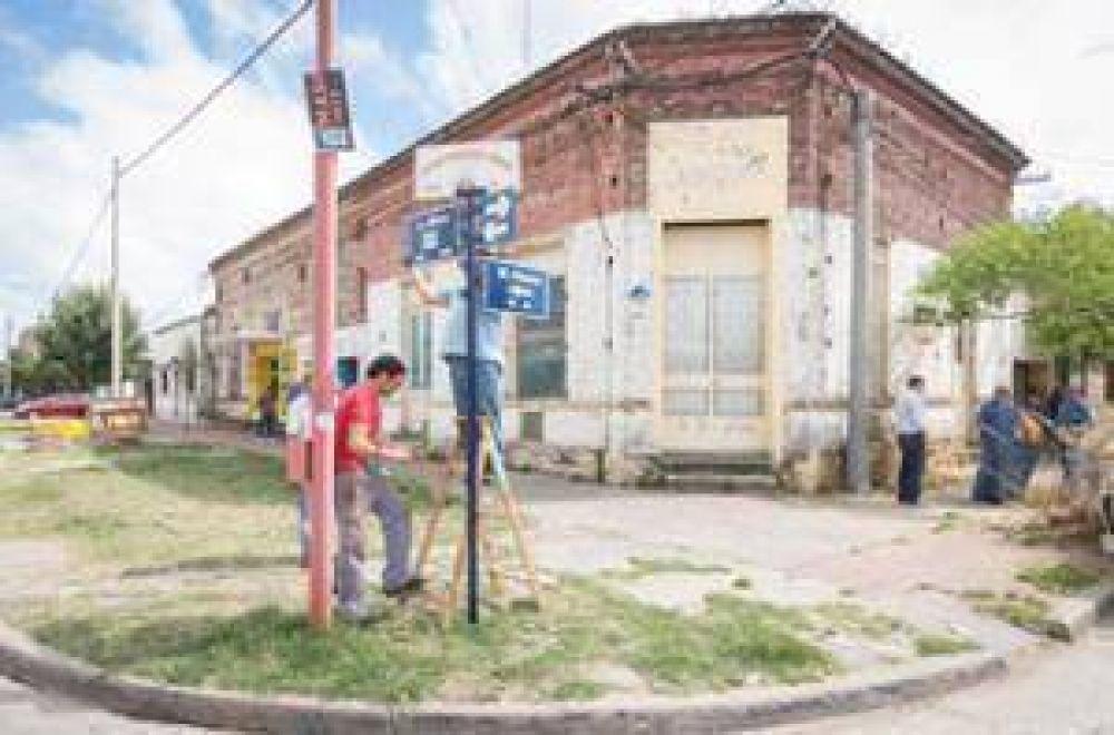 Se iniciaron los trabajos del nuevo plan de señalización de calles
