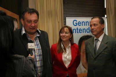 Genusso podría ser el candidato a vicegobernador de Weretilneck