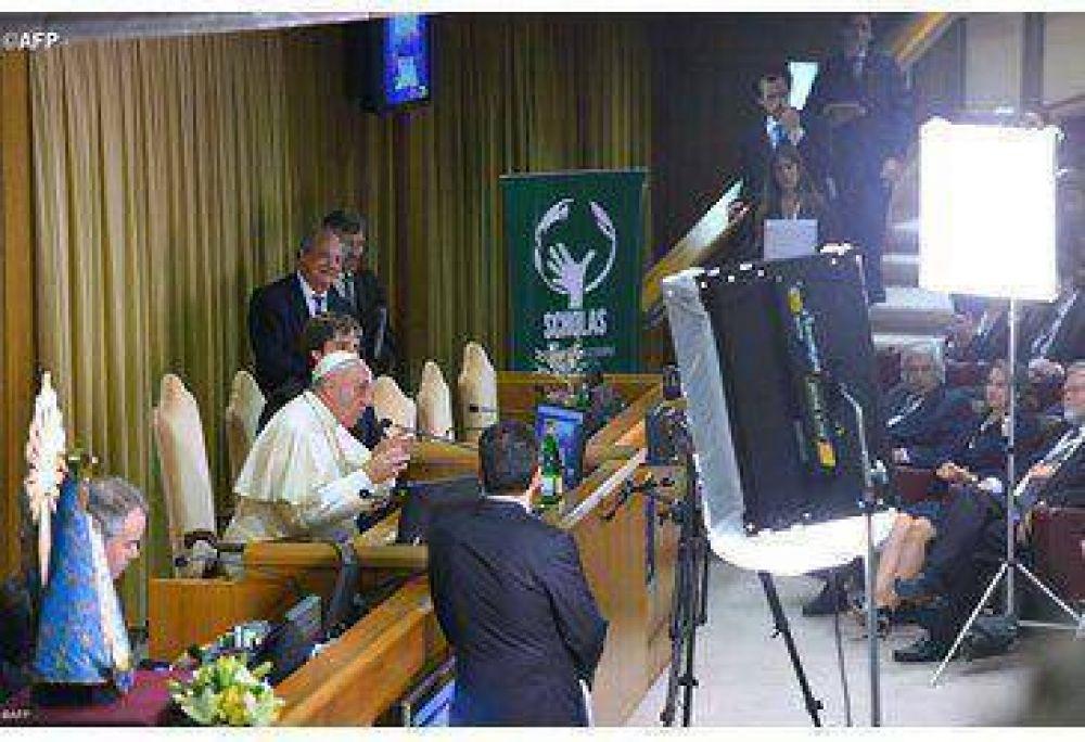 El Papa Francisco hablará por internet a jóvenes con discapacidades en el cierre del Congreso de Scholas