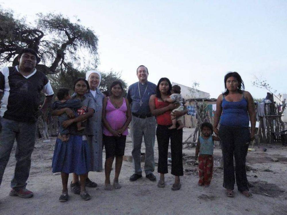 Mons. Zanchetta agradece el testimonio de la vida consagrada en Orán