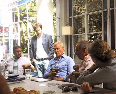 De Narváez se reunió con referentes del Frente Renovador y respaldó a Arteaga