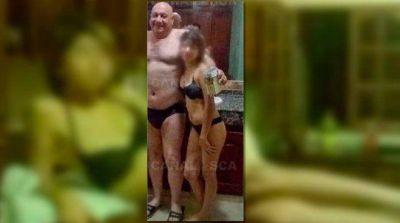 Difunden la foto completa del intendente salteño: estaba en ropa interior