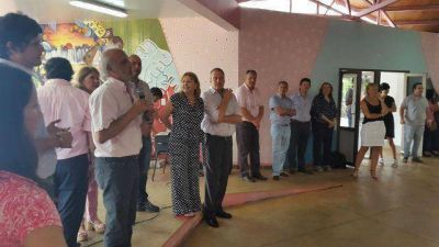 Perczyk y Jacobo visitaron escuelas en Puerto Iguazú