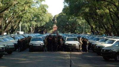 Diferencias por la cantidad de gendarmes: �600 o 1.000 en Rosario?