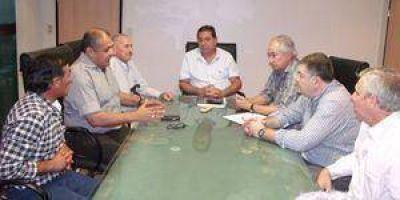 Reunión de la FEF con el Ministro Jofré
