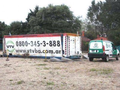 La planta móvil de VTV llegaría la próxima semana a Chascomús
