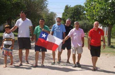 Presencia internacional en Claromecó