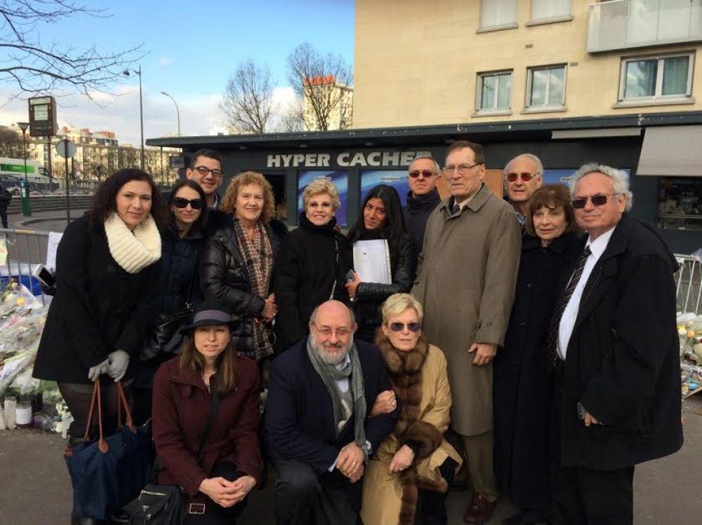 Líderes de la Agencia Judía viajan a París para mostrar su solidaridad y evaluar las necesidades