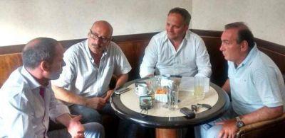 La Plata: Llamativa reunión de precandidatos a intendentes