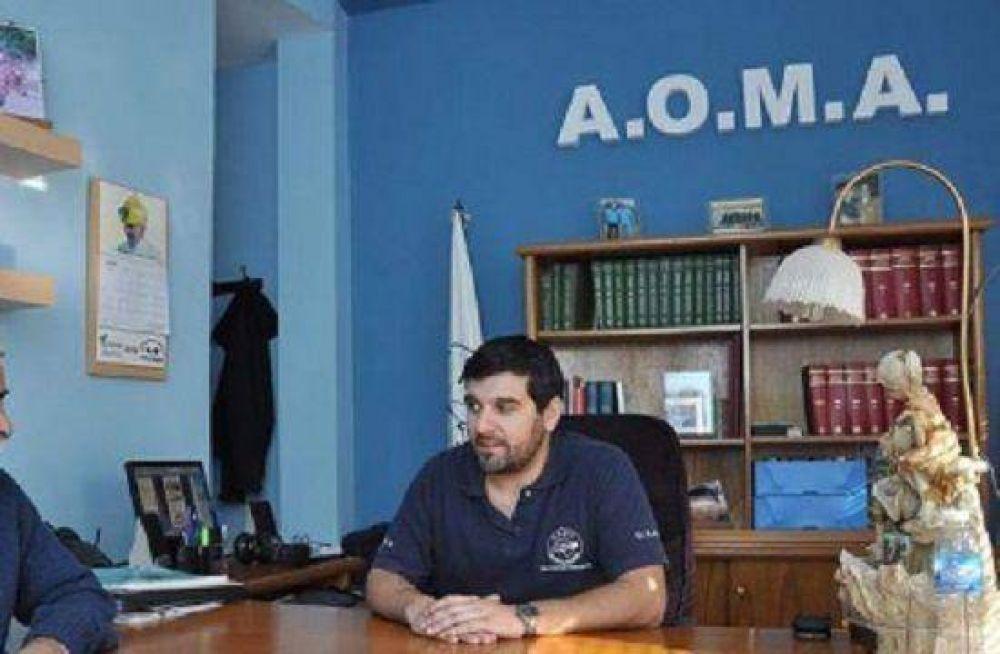 AOMA denuncia agresión por parte del gremio de Camioneros