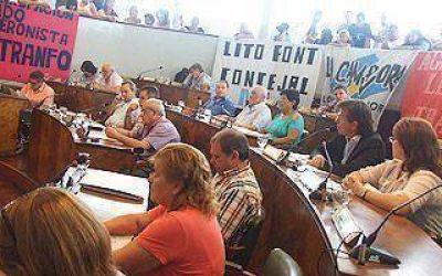 El Concejo convalidó la licencia de Insaurralde