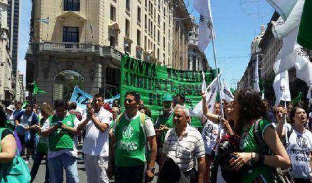 CTA y ATE denuncian despidos en el gobierno porteño