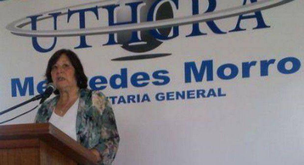 """Mercedes Morro: """"La intención de Gastronómicos es efectivizar la compra del Emhsa y mantener los puestos de trabajo"""""""