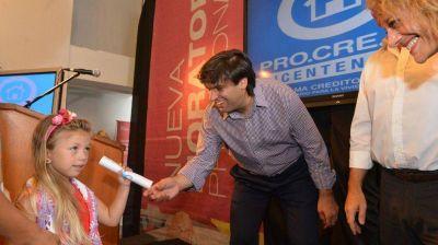 Bossio entregó jubilaciones en Balcarce, Mar Chiquita y Pinamar