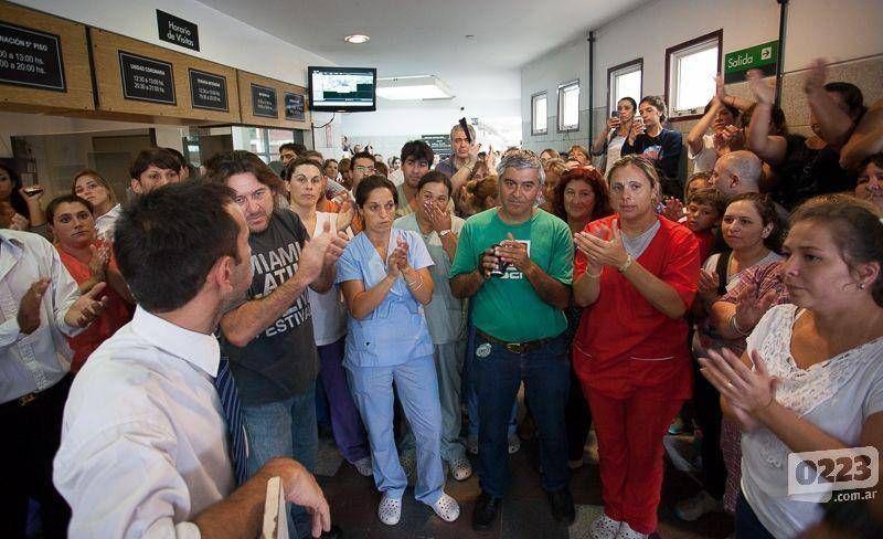 """Conflicto en Emhsa: """"Los trabajadores no estamos en el inventario"""""""