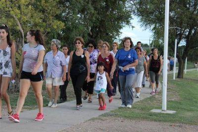 Se realizó una caminata en el Día Internacional de la lucha contra el Cáncer
