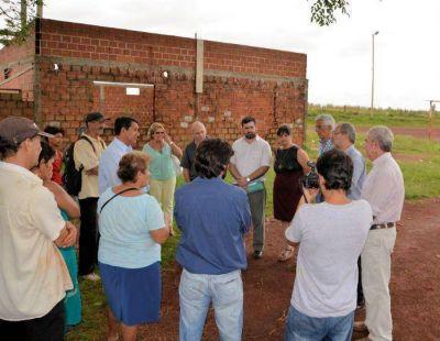 Se realizarán obras de mejoramiento en barrios posadeños