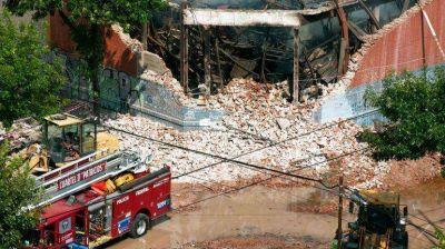 A un año del incendio en Barracas, la DAIA homenajeó a los bomberos fallecidos