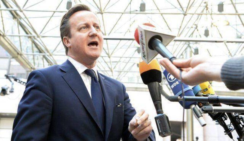 Primer ministro británico: