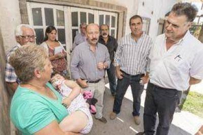 Transitar 20 Barrios: Avanzan los trabajos en el Ceferino Namuncurá