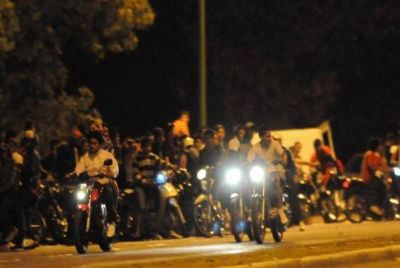 Operativo por picadas ilegales: secuestraron 27 motos