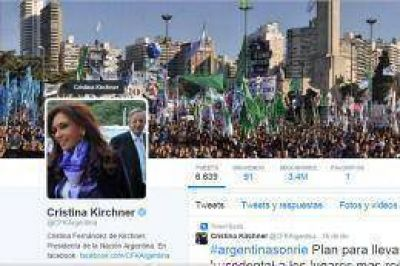 Cristina twitte� la carta de la embajadora Nah�n al Congreso de EEUU
