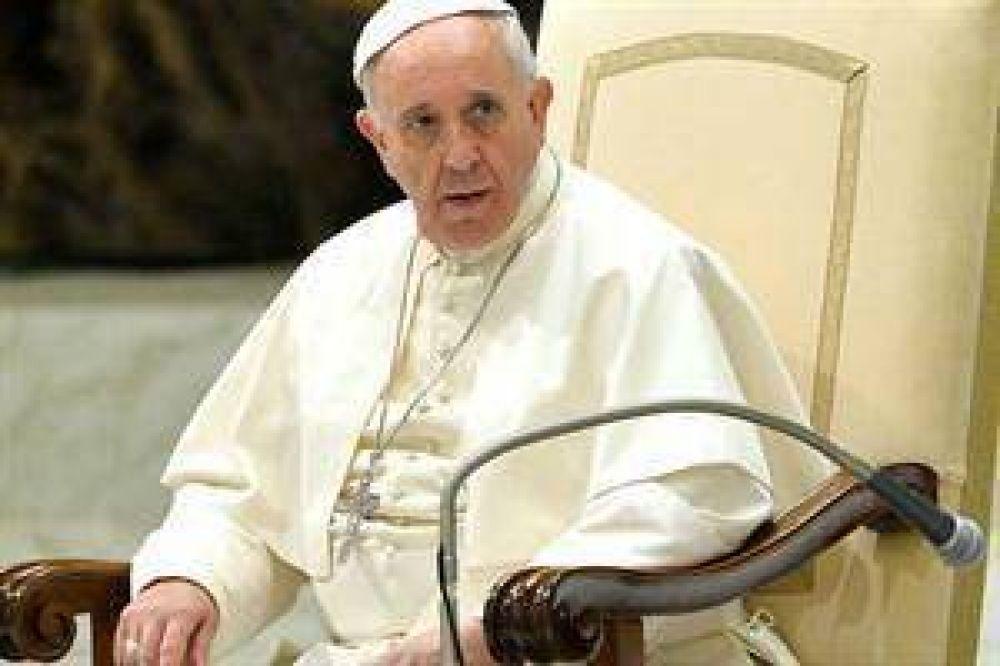 El papa Francisco abogó por una mayor participación de la mujer en la sociedad