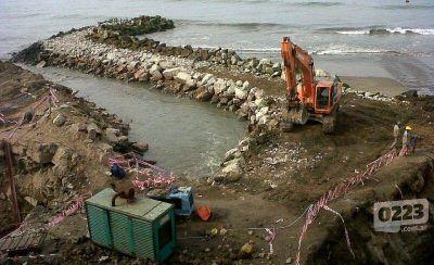 Nación destinará $1.500.000 para el muelle de Pesca Artesanal en el Emisario
