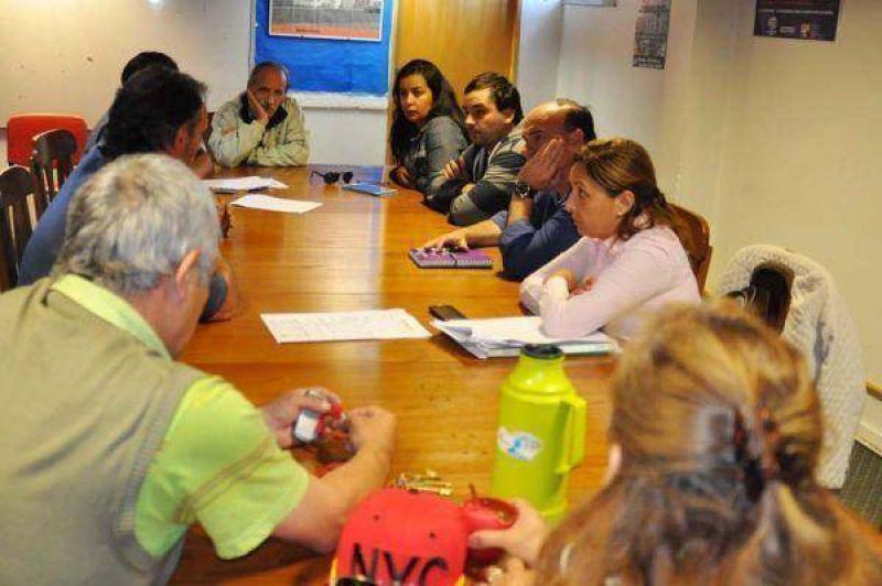 Legisladores se reunieron con representantes de jubilados de ATE