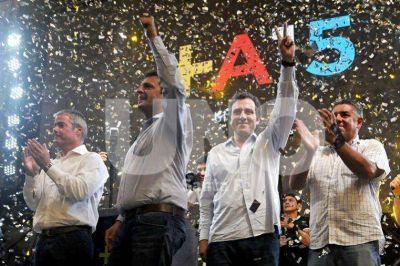 """Sergio Massa: """"Santa Fe tiene un rol clave en el futuro del país"""""""
