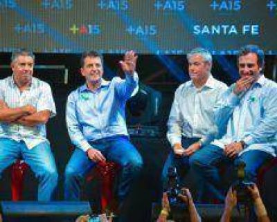 Sergio Massa lanzó a sus candidatos en Santa Fe