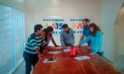 La Mesa Provincial Massa 2015 ya trabaja en Bariloche