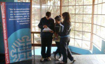 Segundo periodo de inscripción a carreras de la Universidad del Comahue