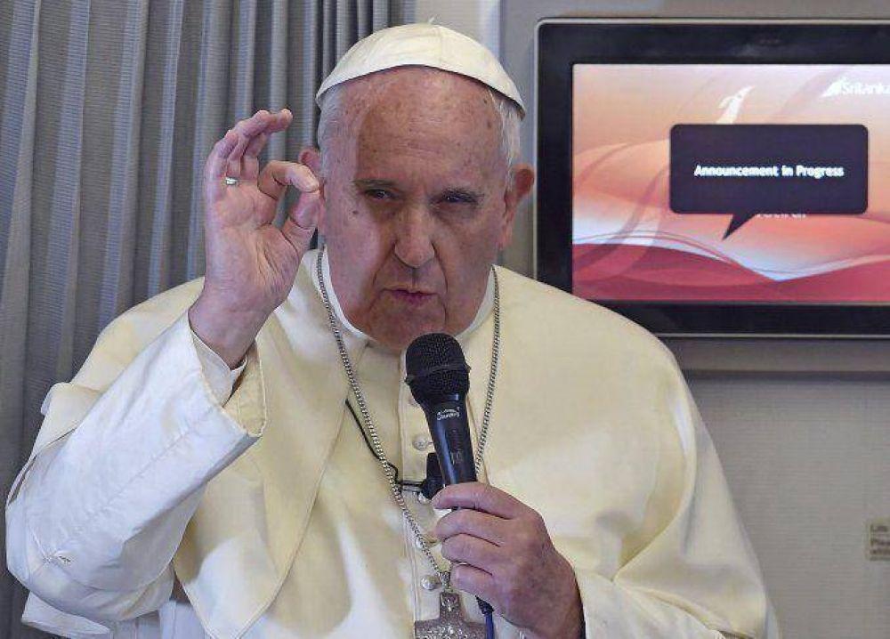 El Papa pidió respetar a la naturaleza y no apoderarse de ella