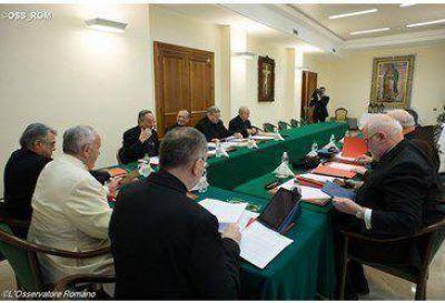 Reforma de la Curia: octava reunión del Papa con el Consejo de Cardenales