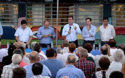 Pérez explicó las medidas vitivinícolas en Lavalle y San Martín