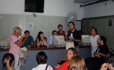 """Trabajadores del EMHSA piden que se """"liberen los fondos"""" para cobrar los sueldos adeudados"""