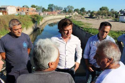 Gabriel Mercuri pidió finalizar la Estación de Bombeo del Arroyo del Rey