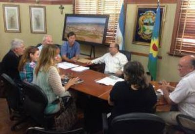 Seguridad: Giovanettoni y la Comisión acordaron trabajar en conjunto