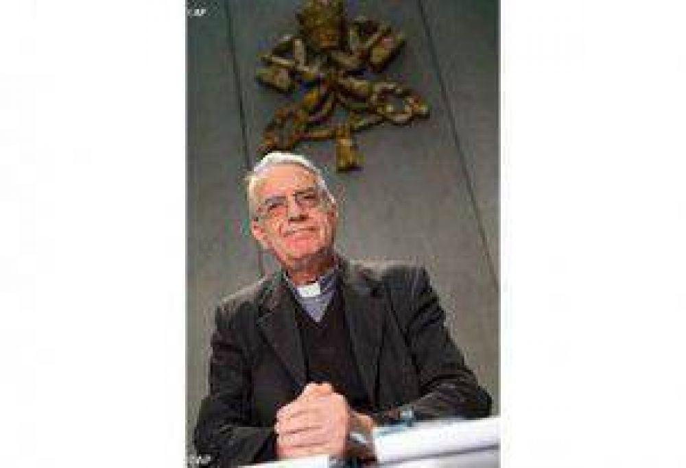"""P. Lombardi: """"La Santa Sede sigue con atención la situación de crisis en las diversas partes del mundo, entre ellas la de la región oriental de Ucrania"""""""