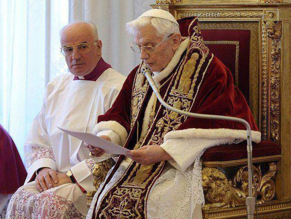 Benedicto XVI y el recuerdo de un gesto valiente