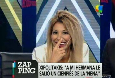 "Stefy Xipolitakis: ""A Vicky le salió un ciempiés de la 'nena'"""